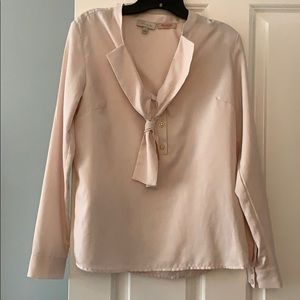 The Limited blush size S work blouse